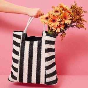 Handbags - **Striped Tote**